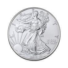 Новые игрушки Серебряная Богиня Свободы 1 доллар США монеты с изображением орла памятная Коллекционная монета