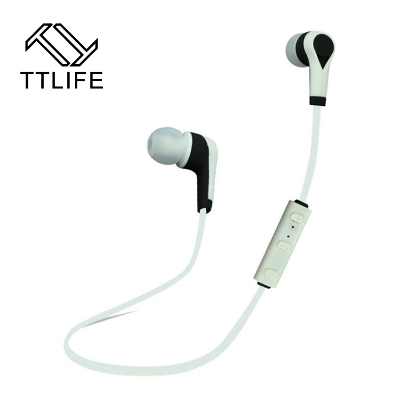 TTLIFE Original Sports Wireless Bluetooth Earphones Stereo Earbuds Bass Headsets with Mic In-Ear for iPhone 7 6 6s Samsung Phone