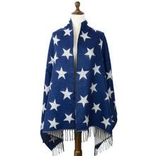 jzhifiyer Free Shipping 5pcs/Lot 260G 70*180cm Jacquard Long Stars Mens Ladies Scarf Winter Acrylic Shawl Wrap scarf
