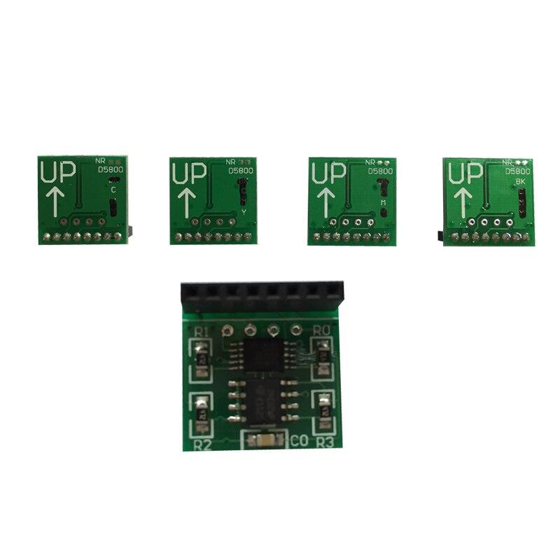 100% новый чип декодер для HP d5800 принтер чипом автоматического сброса декодер с высокое качество, Бесплатная доставка на продвижение HP d5800