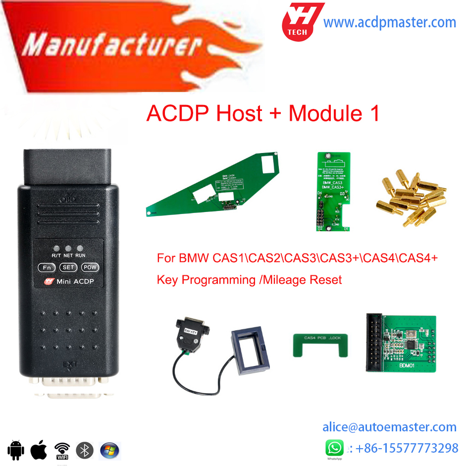 Yanhua Mini Acdp For Bmw Programming Full Set Cas Fembdcdemisn Frm Module Location And 35 Seriesrefresh Key In Auto Programmers From Automobiles