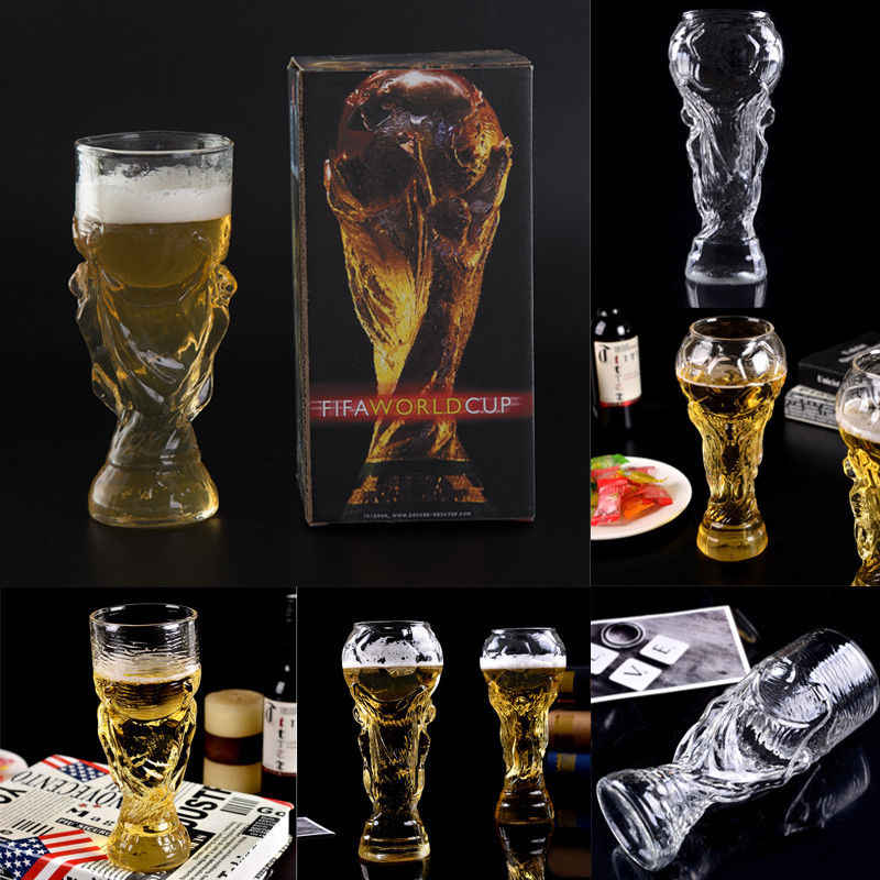 2018 Newest Hot Fashion Football Soccer Mug Hercules Beer Glass Bar Drink Stein Mug 350ml 450ml