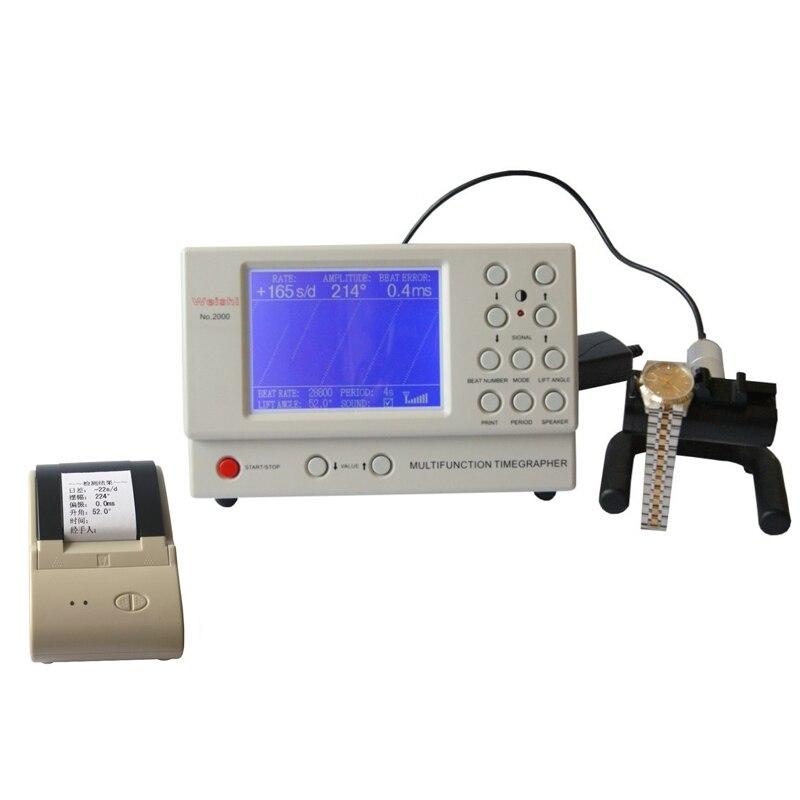 No. 2000 Präzise mechanische uhren Timing test Timegrapher mit Drucker, Uhr Reparatur Werkzeuge Timegrapher-in Reparatur-Werkzeuge & Kits aus Uhren bei  Gruppe 1