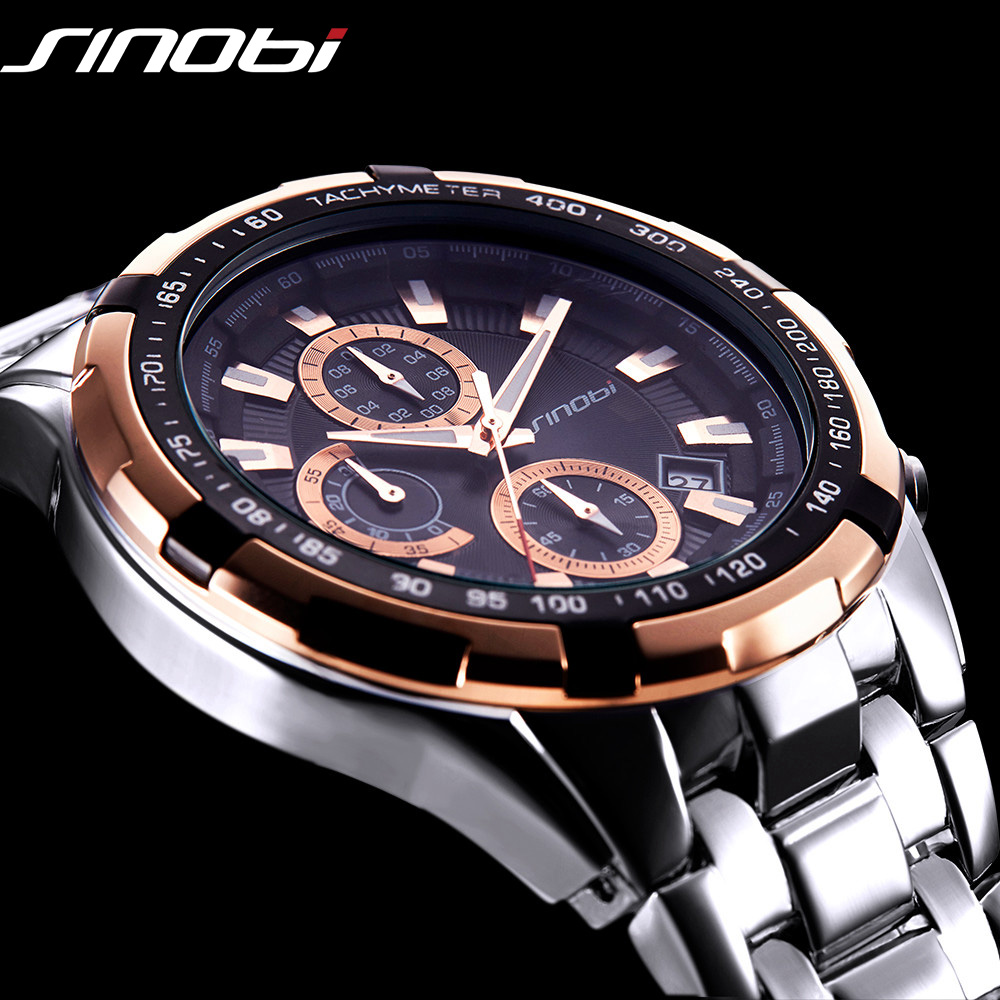 Top Luxury Brand Quartz Watch Men's Chronograph Man Sports Wristwatch Designer Fashion Casual Clock Male Classic relogio Date