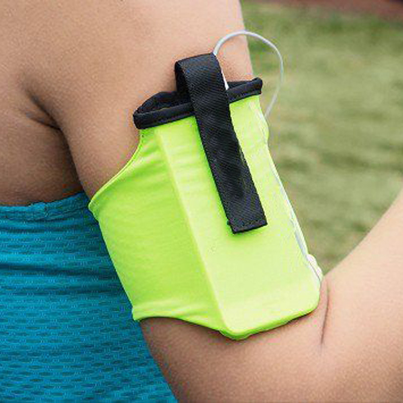 Sports Mobile Phone Arm with Arm Bag Men and Women Running Equipment Bag Outdoor Close fitting Elastic Mobile Phone Arm Bag in Armbands from Cellphones Telecommunications
