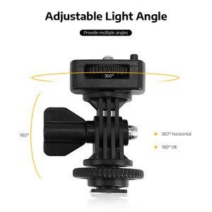 Image 5 - Viltrox Lámpara de luz LED para estudio de vídeo, VL 500T, 25W, delgado de doble Color, batería F550 regulable para foto de cámara, grabación de vídeos, YouTube