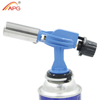 APG Mini portable gas lighter and 1350 degrees electric igniter