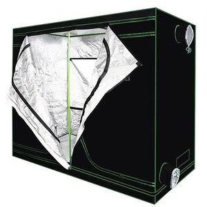 Image 3 - Crescere tenda per la coltura idroponica dellinterno serra impianto di illuminazione Tende 240*120*200 centimetri Crescere tenda crescere box