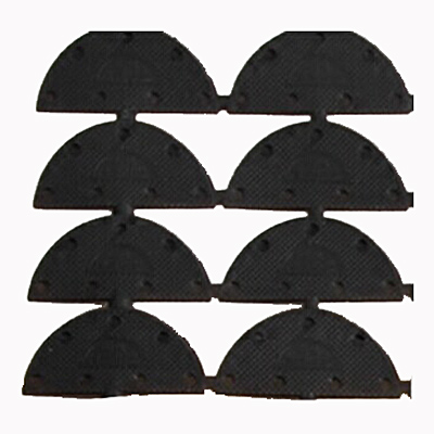 4 Pairs Nonslip Stick Feet Shoes Heel Sole Protector Grip Pad Cushion