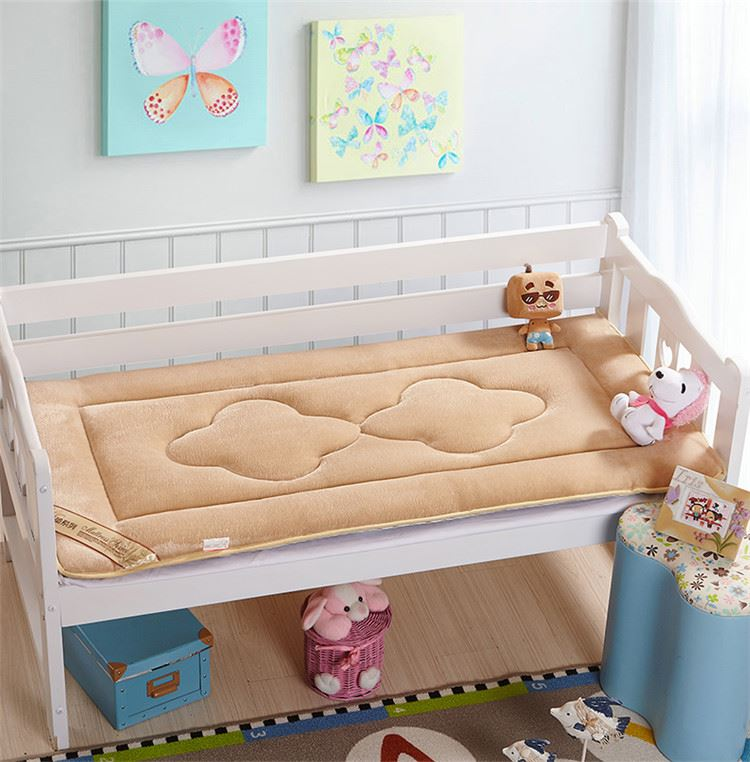 все цены на Baby Nest Newborn 4D Bed Sleeper Cot Crib Mattress Todder Coral matress & Pee Pads 65X120cm COT BED MATTRESS Quilted Baby pad