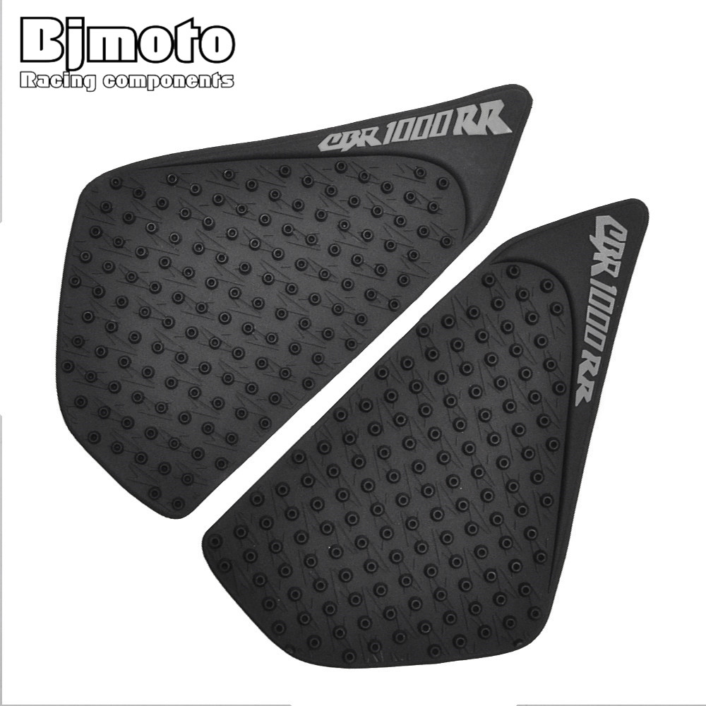 BJMOTO Motorcycle Tank Traction Pad Side Gas Knee Grip Protector Anti Slip Sticker For Honda CBR 1000RR 2004-2007 bjmoto for ktm duke 390 200 125 motorcycle tank pad protector sticker decal gas knee grip tank traction pad side