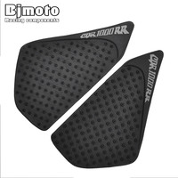 Motorcycle 3M Tank Traction Pad Side Gas Knee Grip Protector Anti Slip Sticker For Honda CBR