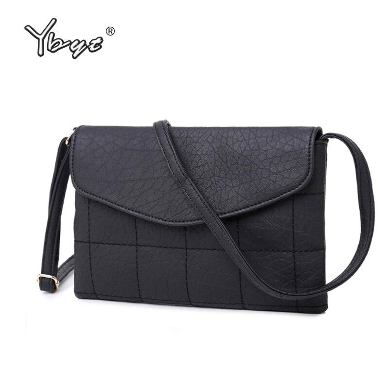 YBYT brand 2018 new casual envelope diamond lattice handbags hotsale women purse ladies clutch shoulder messenger crossbody bags ybyt brand 2018 new casual women rivets