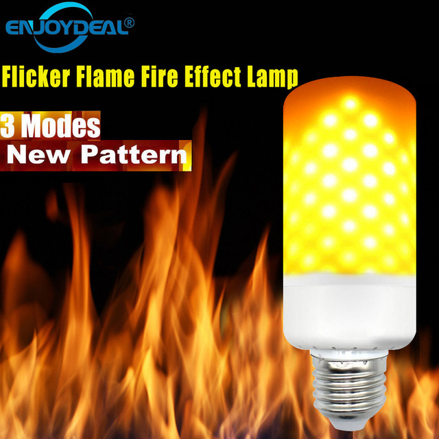 Flame Bulb Effect Led Us8 Light Corn B22 E14 Lanterna Fire 5w Lamp Dynamic e27 Flicker In 96 Burning 18Off T13uKc5lFJ