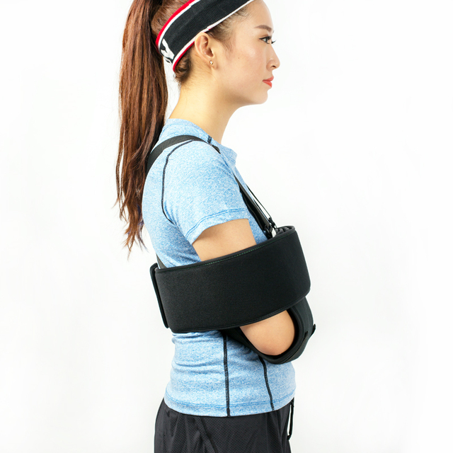 HKJD Arm Sling Aid Recovery Injured Arm Shoulder Sling Medical Arm brace  support for dislocation injury and fracture 5f55b39172c4