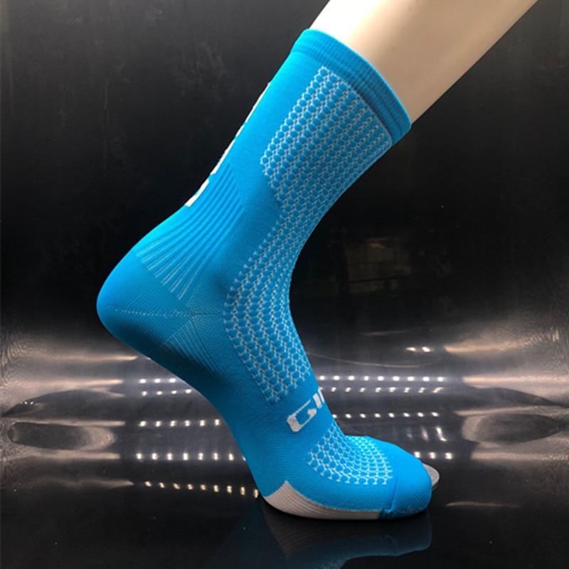 HK Running Cycling Men Women Breathable Sports Outdoor Basketball Mid Calf Sock