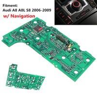 Novo 3g mmi multimídia painel de placa de circuito de controle com navegação para a8 a8l s8 06-09