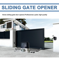 Heavy duty electric sliding gate motor/automatic gate opener engine move wheeled Gate with 4m nylon racks Auto kgs Optional
