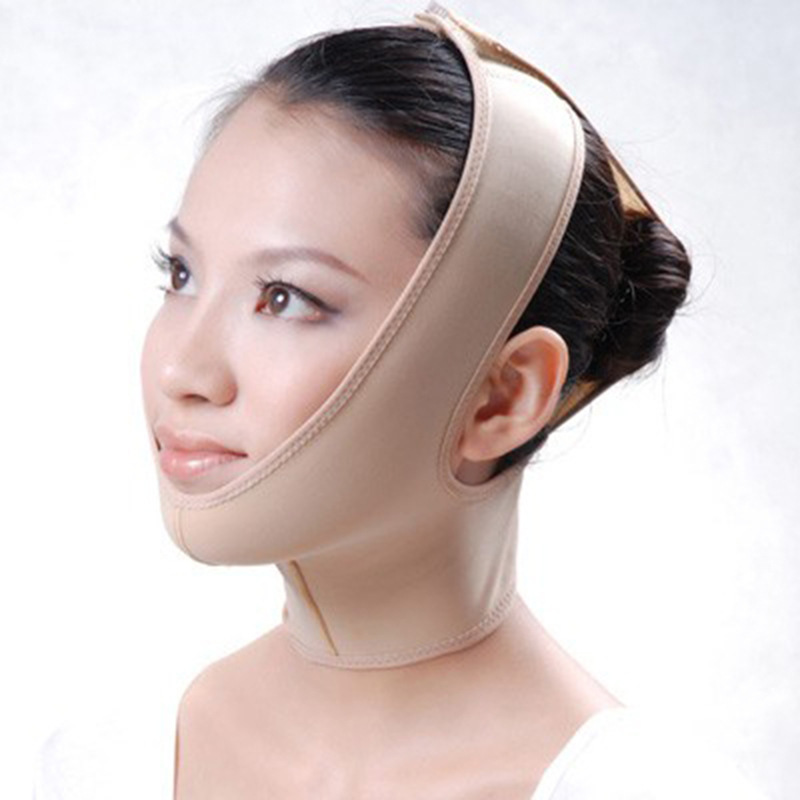 Lianth High Elasticity V-Face Fat Burning Slimming Belt Corrector Relaxation Facial Tool Health Care For Day And Night T229OLF
