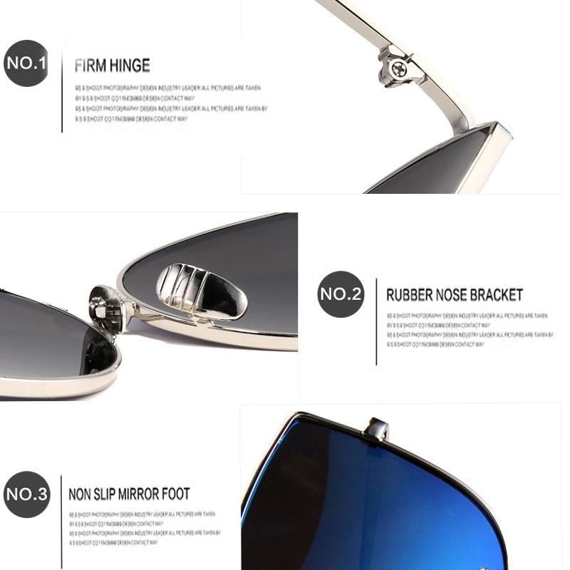 Sunčane naočale Sunčane naočale Cat Eye za žene Luksuzni - Pribor za odjeću - Foto 5
