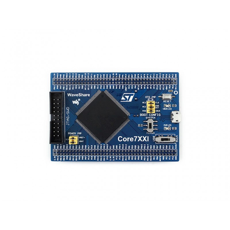 ФОТО module STM32 Core Board Core746I Designed for STM32F746IGT6 with full IO Expander JTAG/SWD Debug Interface Onboard 64M Bit SDRAM