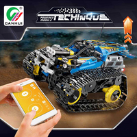 2.4G DIY Remote Control Sport RC Tank Toy Electric Stunt Car with Voice Remote Control Toys APP Gravity Remote for Children