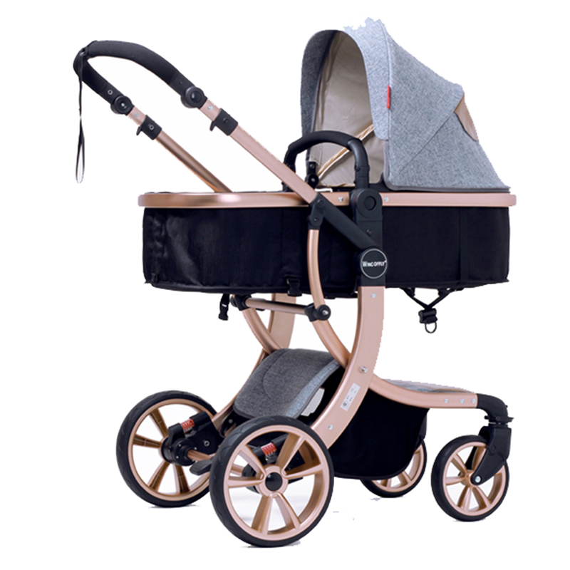 Aimile baby stroller 2 in 1 High landscape Multifunctionc ...