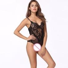 Sexy Lace Bodysuit Women EL01