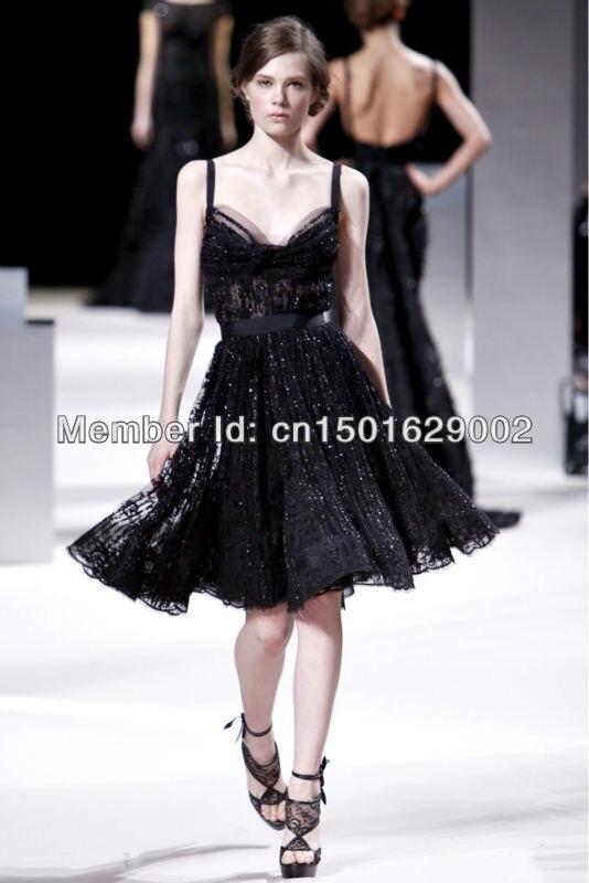 Elie saab платья черные