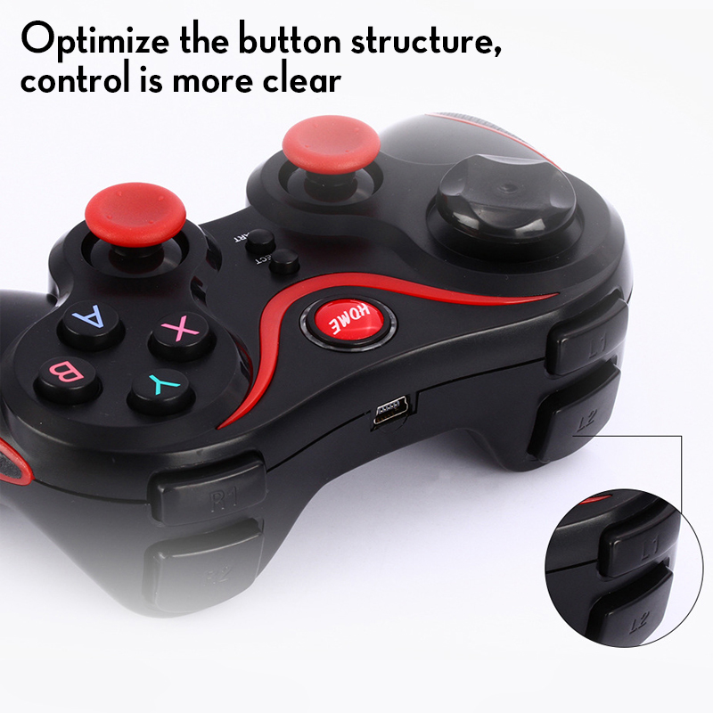 Wireless Android Gamepad T3 X3 Wireless Joystick Game Controller