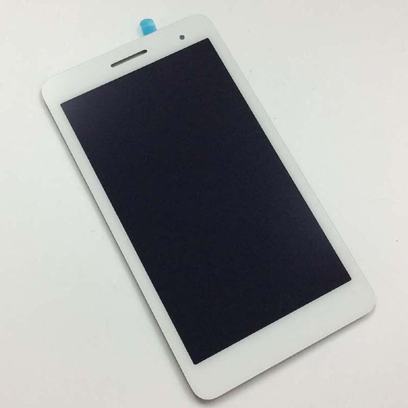 все цены на White For HUAWEI MediaPad T1 7.0 3G 702 702U T1-702 T1-702U Touch Screen Digitizer Glass + LCD Display Panel Monitor Assembly онлайн