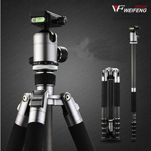 NEW HJ-C285 Tripod Portable  Unipod + bag For Camera Nikon Sony Canon Samsung Russia Brazil  FREE SHIPPING