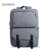 ZENBEFE Vintage Backpack Unisex Casual Backpack Women S Canvas School Backpacks For Teenager Men Travel Bags