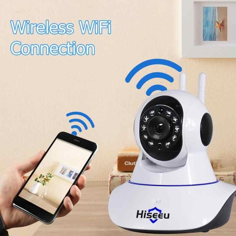 Hiseeu セキュリティ監視スマート IP カム FH1A ワイヤレス WiFi カメラホームナイトビジョン Cctv のビデオカメラビデオレコーダーベビーモニター
