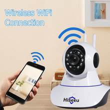 Hiseeu Security Surveillance Smart IP Cam FH1A Wireless WiFi Camera Home Night Vision CCTV Camcorder Video Recorder Baby Monitor(China)