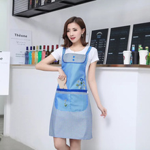 Fashion Apron Kitchen Waterproof housekeeping apron Princess Dress Cooking Aprons Oil Dust Resistance Cute Women