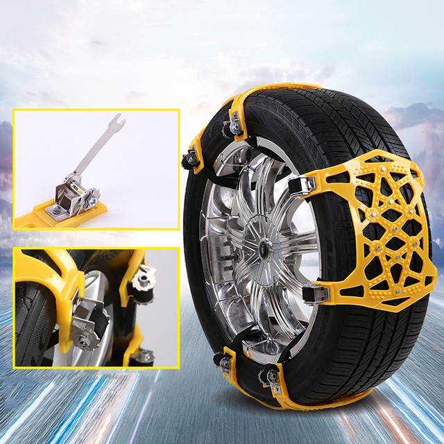 Liplasting Thickened Widened Wheels Snow Chains Security Safety Tire Emergency Winter