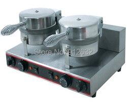 2 plates electric waffle maker, Muffin waffle maker machine