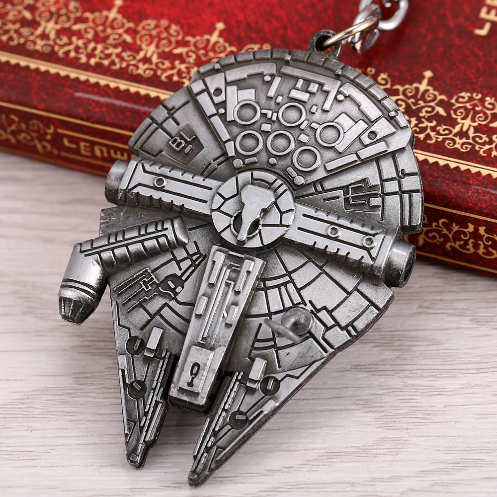 font-b-starwars-b-font-yt-1300-replica-hd-nave-espacial-nave-espacial-star-wars-millennium-falcon-modelo-do-navio-de-metal-do-anel-chave-keychain-titular