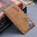 DR. CASS Оригинальный Бренд Ретро Конверт Кожа Case Для Samsung Galaxy J5 J1 E7 E5 A5 A7 S3 S4 S5 S6 S7 Grand Prime Флип крышка