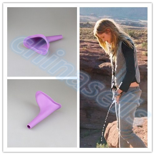 Women Urinal Travel Kit Tool Outdoor Camping Soft Silicone Urination Device Patient Stand Up Pee Female Urinal Toilet