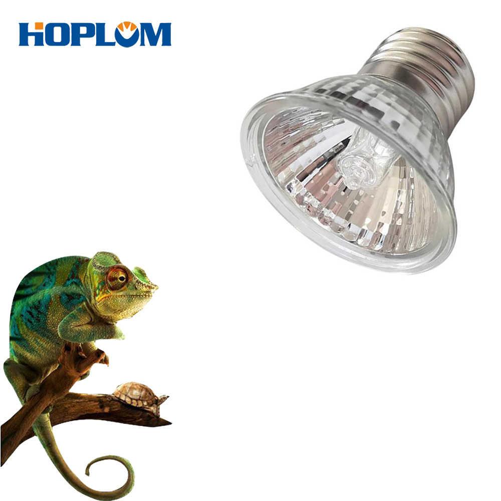 E27 255075W UVA+UVB 220 240V Reptile Lamp Bulb Turtle Basking UV Light Bulbs Heating Lamp Amphibians