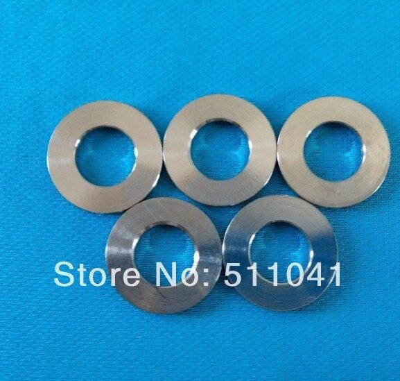 5 Stück Titanscheiben DIN 125 TITAN Gr.2 6,4 für M6 titanium washers