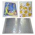Álbum de 18 páginas * 9 bolsos Cartões De Pokemon Eevee evolução Da Pasta Do Cartão De Negociação da família Eeveelutions Pikachu Capa Frete Grátis
