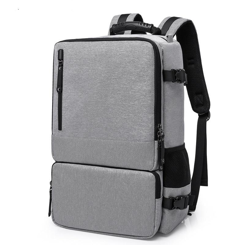 c48cf3357085 2255 новый модный мужской Противоугонный рюкзак Мультифункциональный три  компьютера сумка колледж Студенты Оксфорд Рюкзак - b.stephdunn.me