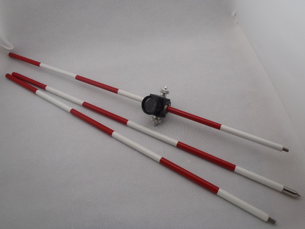 Mini Prism With 3/poles For Total Stations Surveying