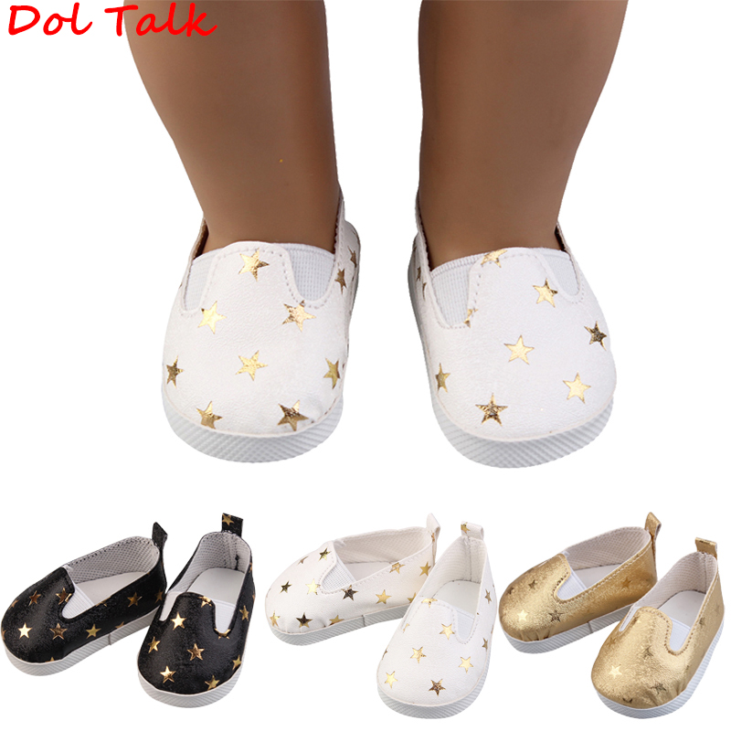 Doll Talk Fashion Five-pointed Star PU Leather 1/6 Doll Shoes For BJD Blyth Licca Doll Toy Mini Boots Cute Girl Dolls Shoes