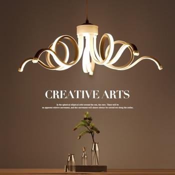 Creative Art Modern Pendant Lights For Living Room Dining room Hang Lamp LED Lighting Ceiling Pendant Lamp White led Lustres