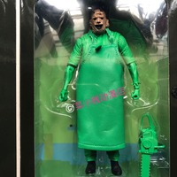 Genuine NECA Texas Chainsaw Massacre Skin Face Jessica Bell Model Doll Action Figure