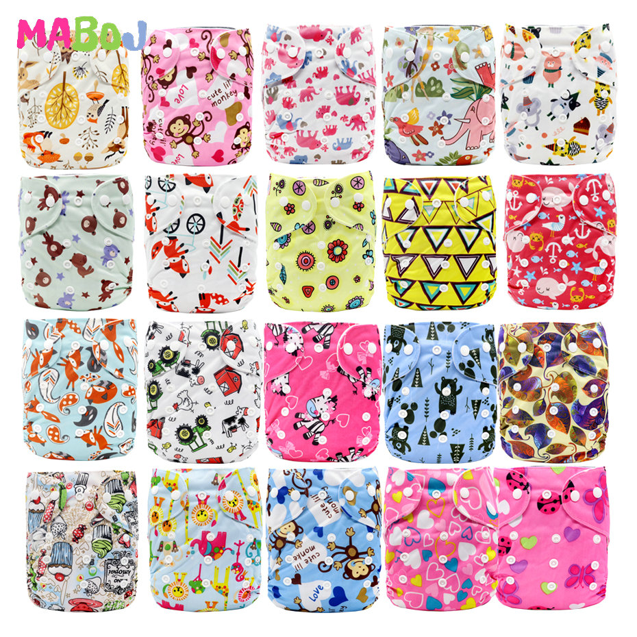 MABOJ Cloth Diapers Nappies-Cover Nappy Bebe Washable Newborn Girl Baby Waterproof Wholesale